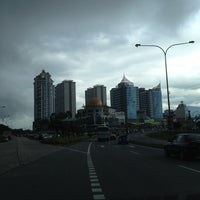 Photo taken at One Borneo LG Car Park by syaffiq on 5/13/2012