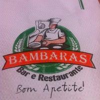 Photo taken at Bambaras Bar e Restaurante by Renato C. on 3/22/2012