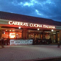 Photo taken at Cariera's Cucina Italiana by RR on 3/23/2012