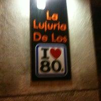 Photo taken at La Lujuria De Los 80 by Sara T. on 3/4/2012
