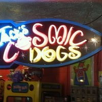 Photo taken at Jack's Cosmic Dogs by Chuck N. on 8/11/2012