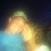 Photo taken at Memorial Day Lantern Floating Ceremony @ Ala Moana Beach Park by Erik N. on 5/29/2012