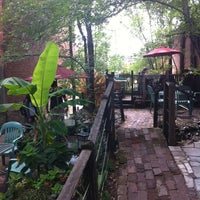 Photo taken at Soulard Coffee Garden by Elizabeth N. on 3/18/2012