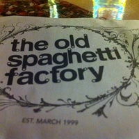 Photo taken at The Old Spaghetti Factory by Ryley G. on 4/7/2012