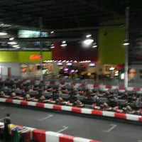 Photo taken at K1 Speed Anaheim by Kyle G. on 5/11/2012