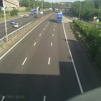 Photo taken at Newport Pagnell Southbound Services (Welcome Break) by Andy P. on 7/30/2012
