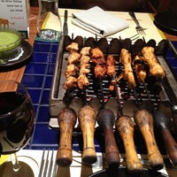 Photo taken at Barbeque Nation by Manny R. on 4/14/2012
