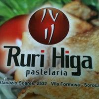Photo taken at Pastelaria Ruri Higa by Amanda C. on 7/12/2012