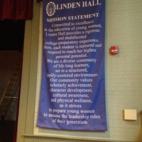 Photo taken at Linden Hall by Cristina R. on 5/5/2012
