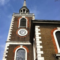 Photo taken at St Mary's Rotherhithe by Ahuv on 2/16/2012