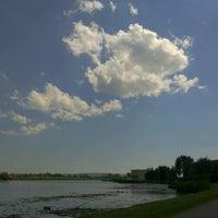 Photo taken at Zalew Rzeszowski by Piotr W. on 6/18/2012