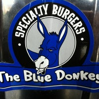 Photo taken at The Blue Donkey by Andrew S. on 4/4/2012