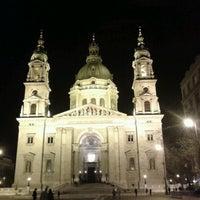 Photo taken at Szent István tér by Bari F. on 4/11/2012