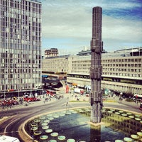 Photo taken at Sergels Torg by Nils K. on 5/3/2012
