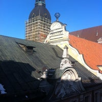 Photo taken at Hotel Justus Riga by Alesia M. on 3/5/2012