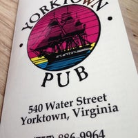 Photo taken at Yorktown Pub by T W. on 7/22/2012