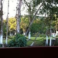 Photo taken at Barra do Sahy by Ana M. on 8/12/2012