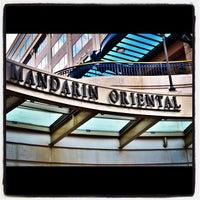Photo taken at Mandarin Oriental, Washington DC by Robert B. on 6/26/2012