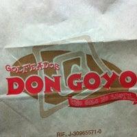 Photo taken at Golfeados Don Goyo by Krupskaya S. on 8/27/2012