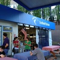 Photo taken at Freshy's Seafood Market by Karen B. on 7/29/2012