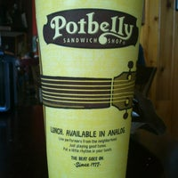 Photo taken at Potbelly Sandwich Shop by Stacey on 7/2/2012
