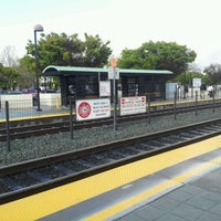 Photo taken at Mountain View Caltrain Station by Dmytro on 4/11/2012
