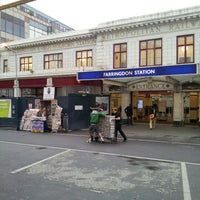 Photo taken at Farringdon London Underground Station by Yury V. on 6/21/2012