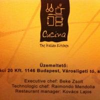 4/10/2012 tarihinde Saad A.ziyaretçi tarafından La Cucina'de çekilen fotoğraf
