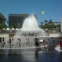 Photo taken at Grand Park by Ariana M. on 7/28/2012
