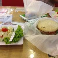 Photo taken at VietMac Riceburger by Jean K. on 5/9/2012