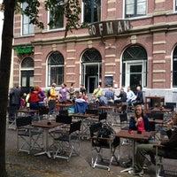 Photo taken at Hofman Café by Gordon L. on 7/10/2012