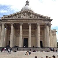 Photo taken at Panthéon by James G. on 6/5/2012