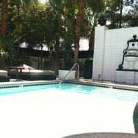 Photo taken at Naked Pool at the Artisan by Kyla S. on 5/12/2012