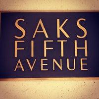 Photo taken at Saks Fifth Avenue by Alvaro on 8/27/2012