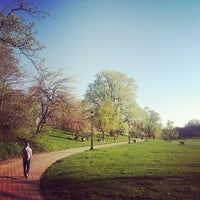 Photo taken at Prospect Park by Victor A. on 4/4/2012