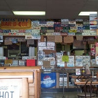 Photo taken at Bates City BBQ by Melissa B. on 5/26/2012