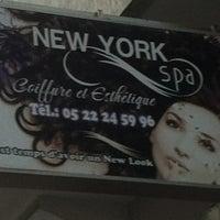Photo taken at Salon coiffure New york spa by Abderazak H. on 5/1/2012