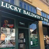 Photo taken at Lucky Baldwin's Pub by Kokopuff on 3/15/2012