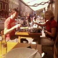 Photo taken at Delicatessen by Kelly V. on 9/8/2012