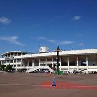 Photo taken at Sendai City Athletic Stadium by Kazuya H. on 6/11/2012