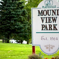Photo taken at Mound View Park by City of Platteville on 5/8/2012