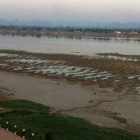 Photo taken at แม่น้ำโขง by Nai a on 2/21/2012