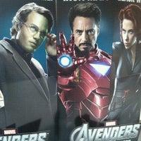 Photo taken at Cinemex by david a. on 4/27/2012