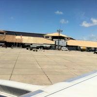 Photo taken at Aeroporto de Porto Seguro (BPS) by Raphael M. on 2/21/2012