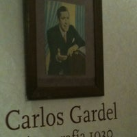 Photo taken at Museo Casa Carlos Gardel by Julian M. on 4/18/2012