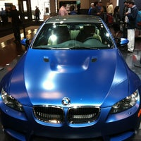 Photo taken at BMW at the NY International Auto Show by Diego R. on 4/13/2012
