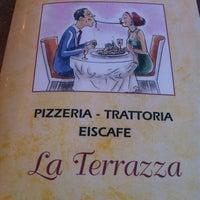 Photo taken at Trattoria La Terrazza by Ottarr G. on 9/2/2012