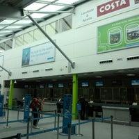 Photo taken at Southampton Airport (SOU) by Hioshi T. on 9/11/2012