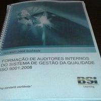 Photo taken at BSI BRASIL SISTEMAS DE GESTAO by Mildo J. on 8/16/2012