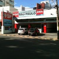 Photo taken at Drogaria São Paulo by Bruno C. on 6/24/2012